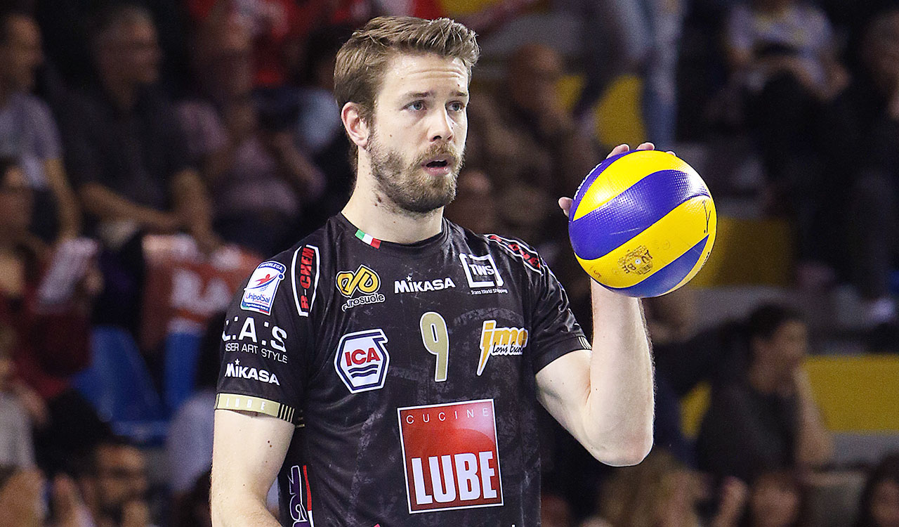 Lube Volley Calendario.Jiri Kovar Rinnova Con La Lube Fino Al 2019 Lega