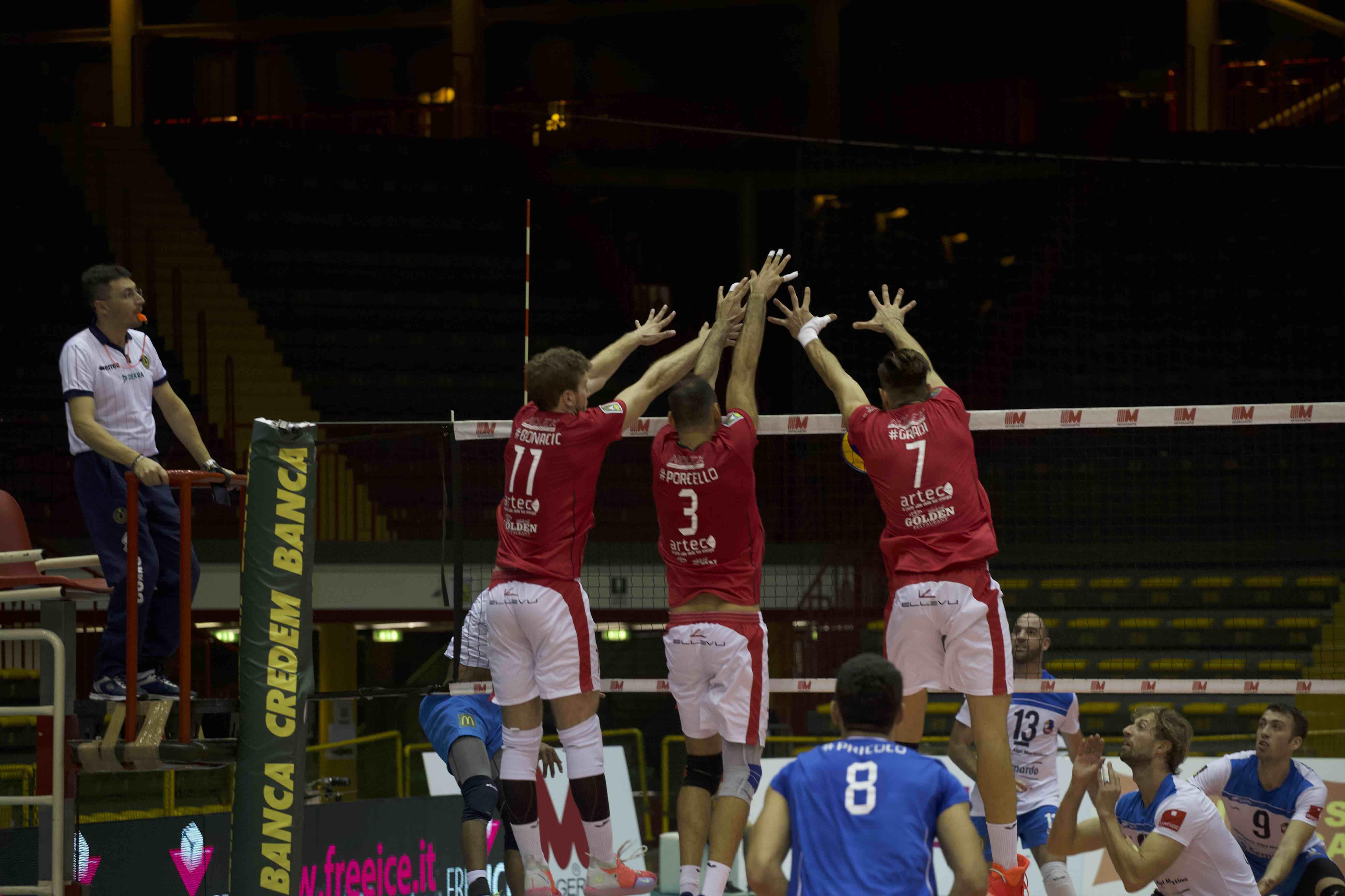 Volley Catania - TRasferta contro Cantù
