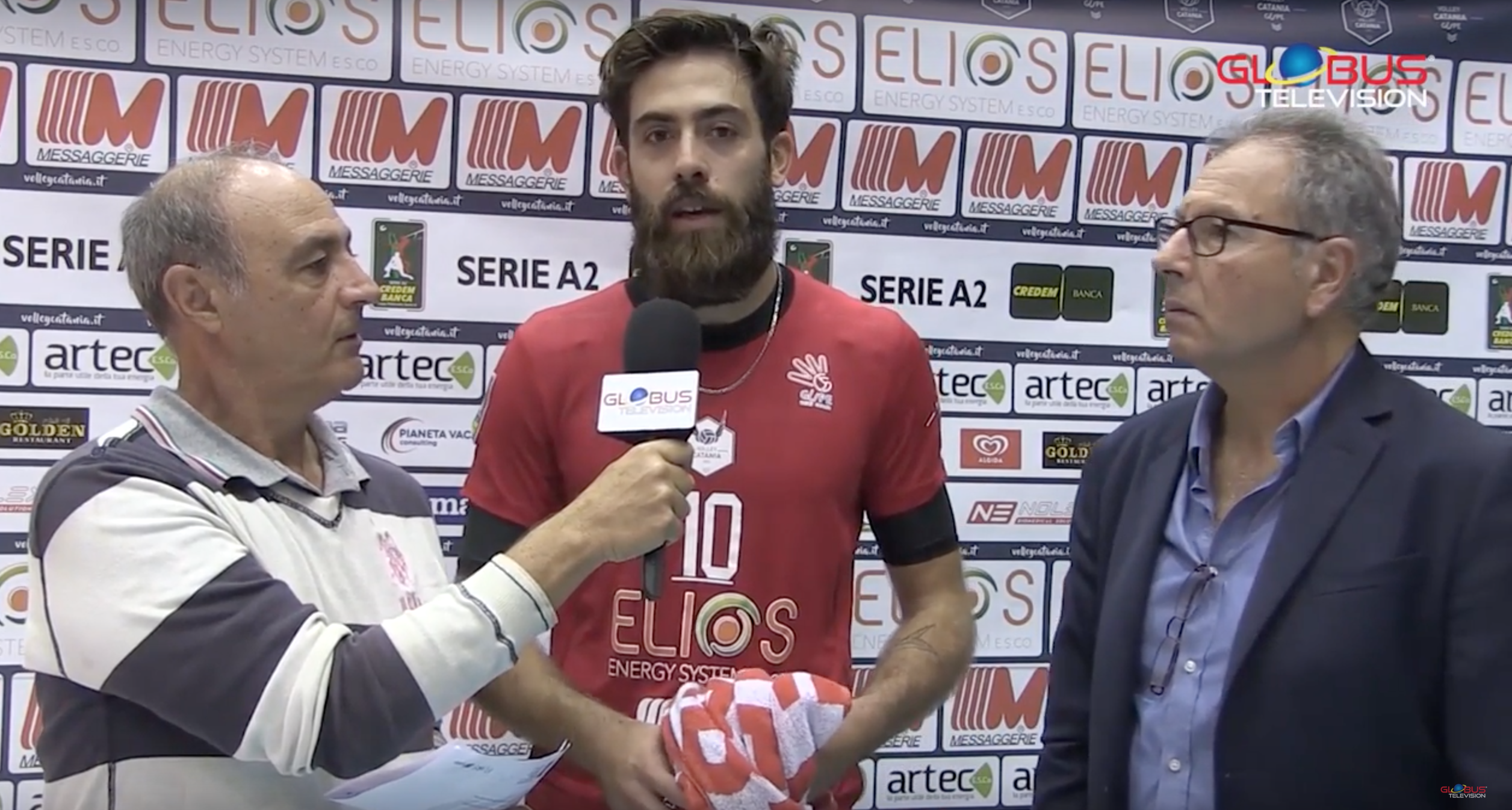 Volley Catania - Globus Television