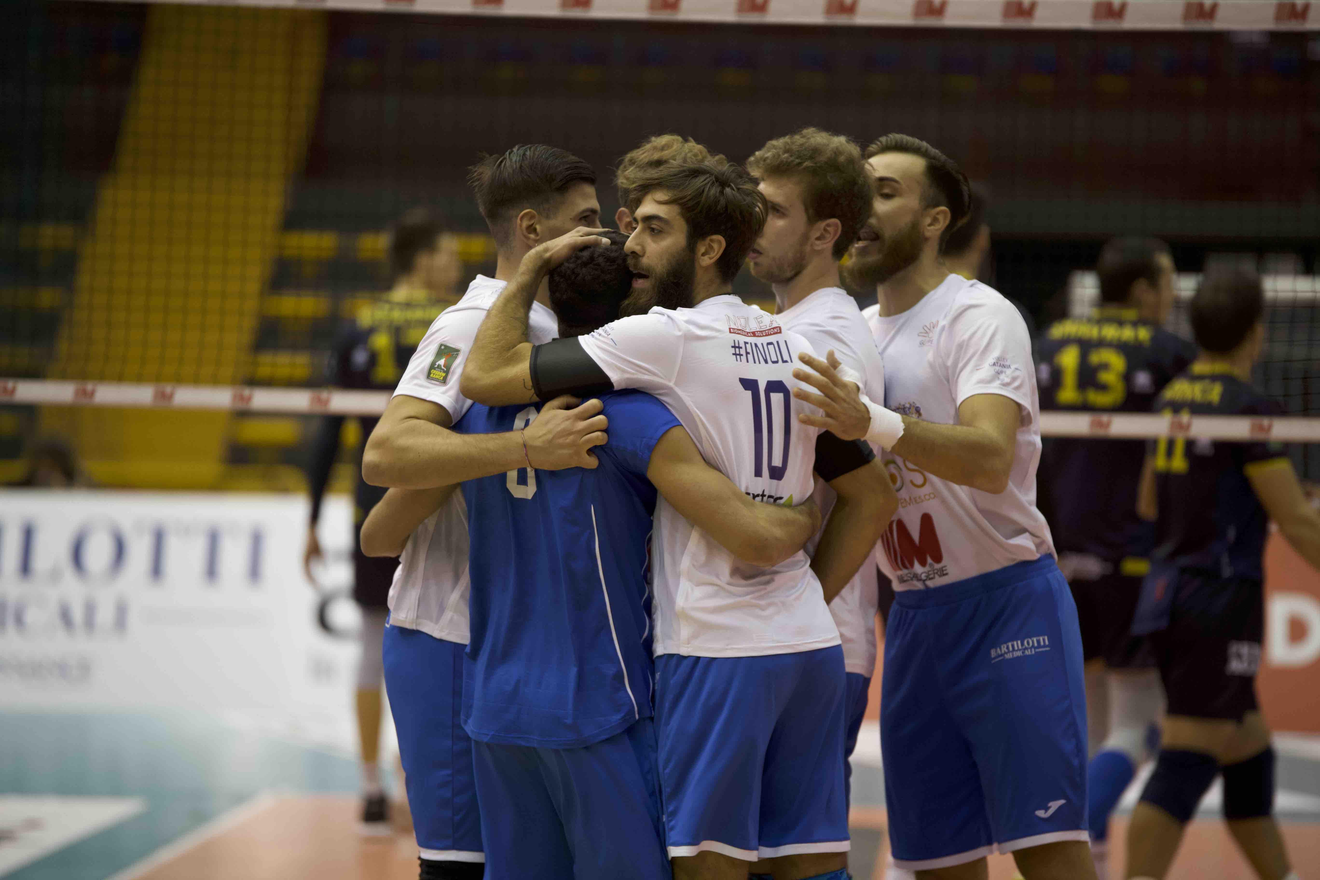 Volley Catania - Elios messaggerie Catania vs Olimpia Bergamo