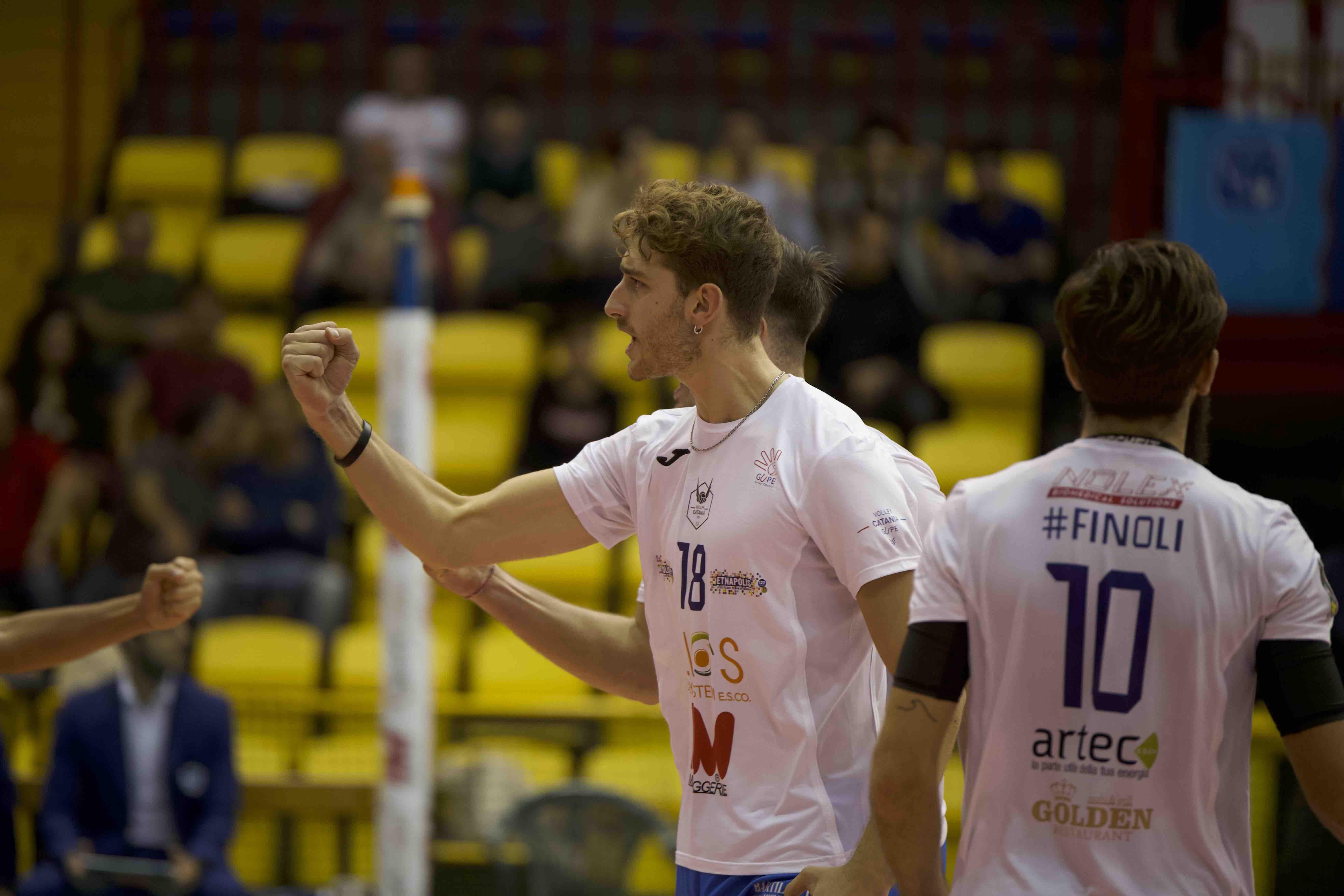 Volley Catania - Elios messaggerie Catania vs Sieco Service Ortona