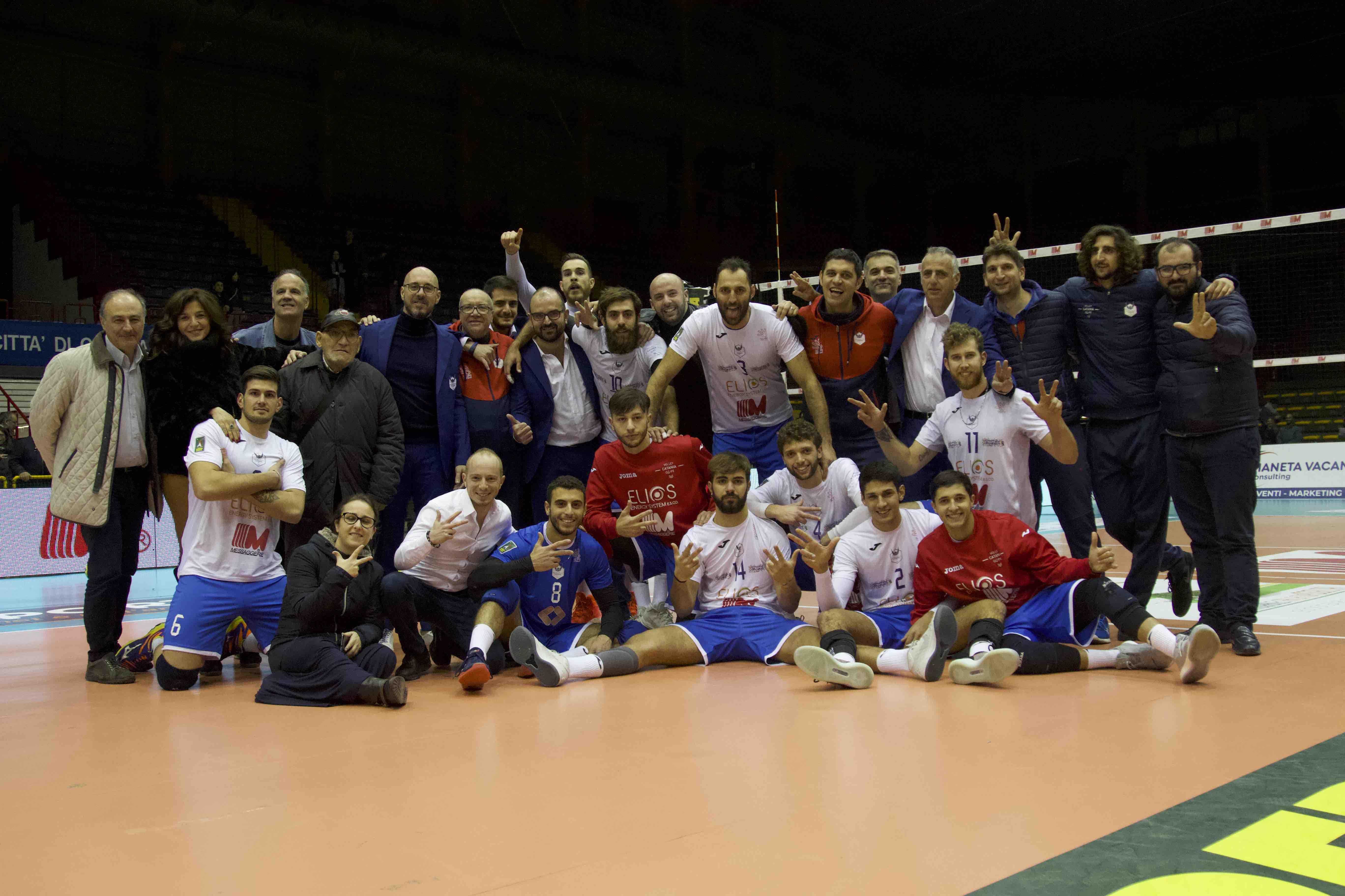 Volley Catania - Vittoria Taviano