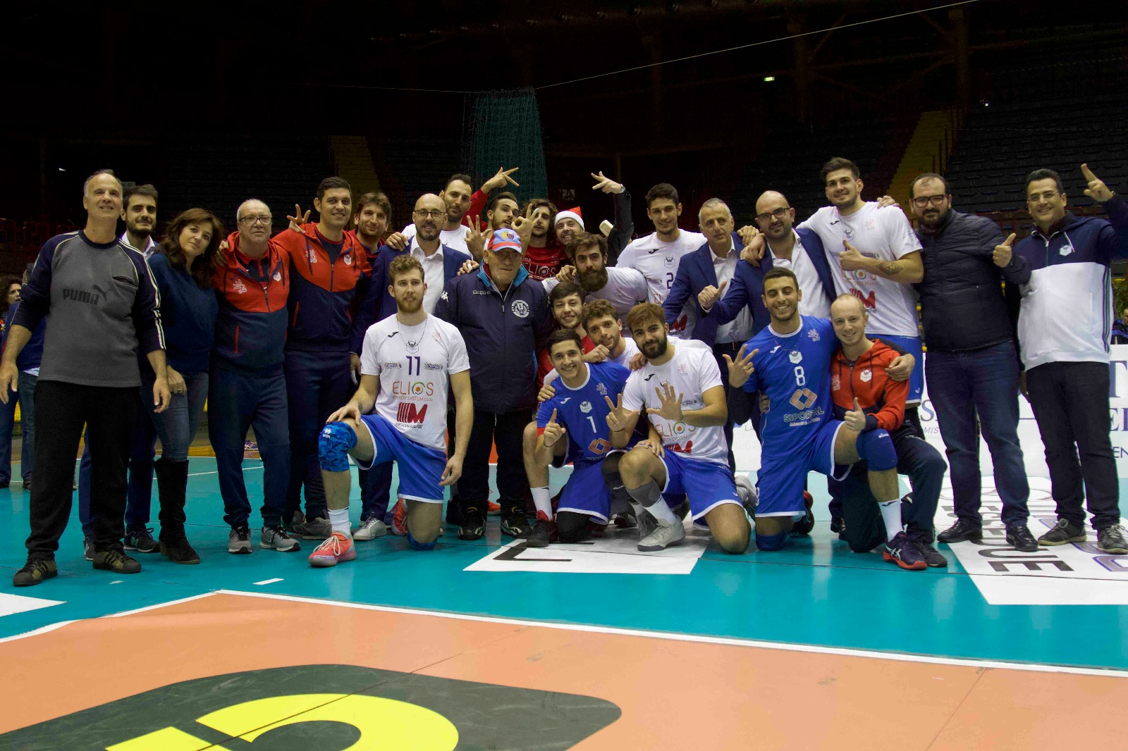 Volley Catania - Vittoria 3-1 su Tuscania