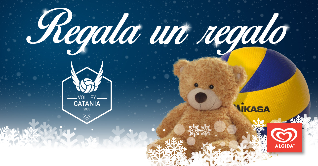 Volley Catania - Regala un regalo