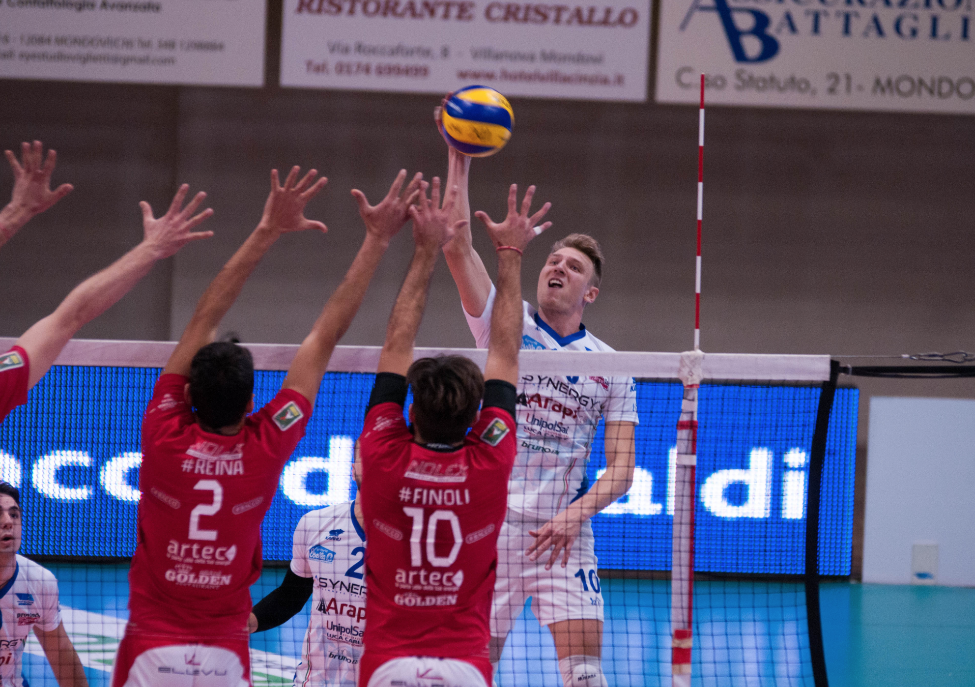 Volley Catania - Coppa Italia a Mondovì