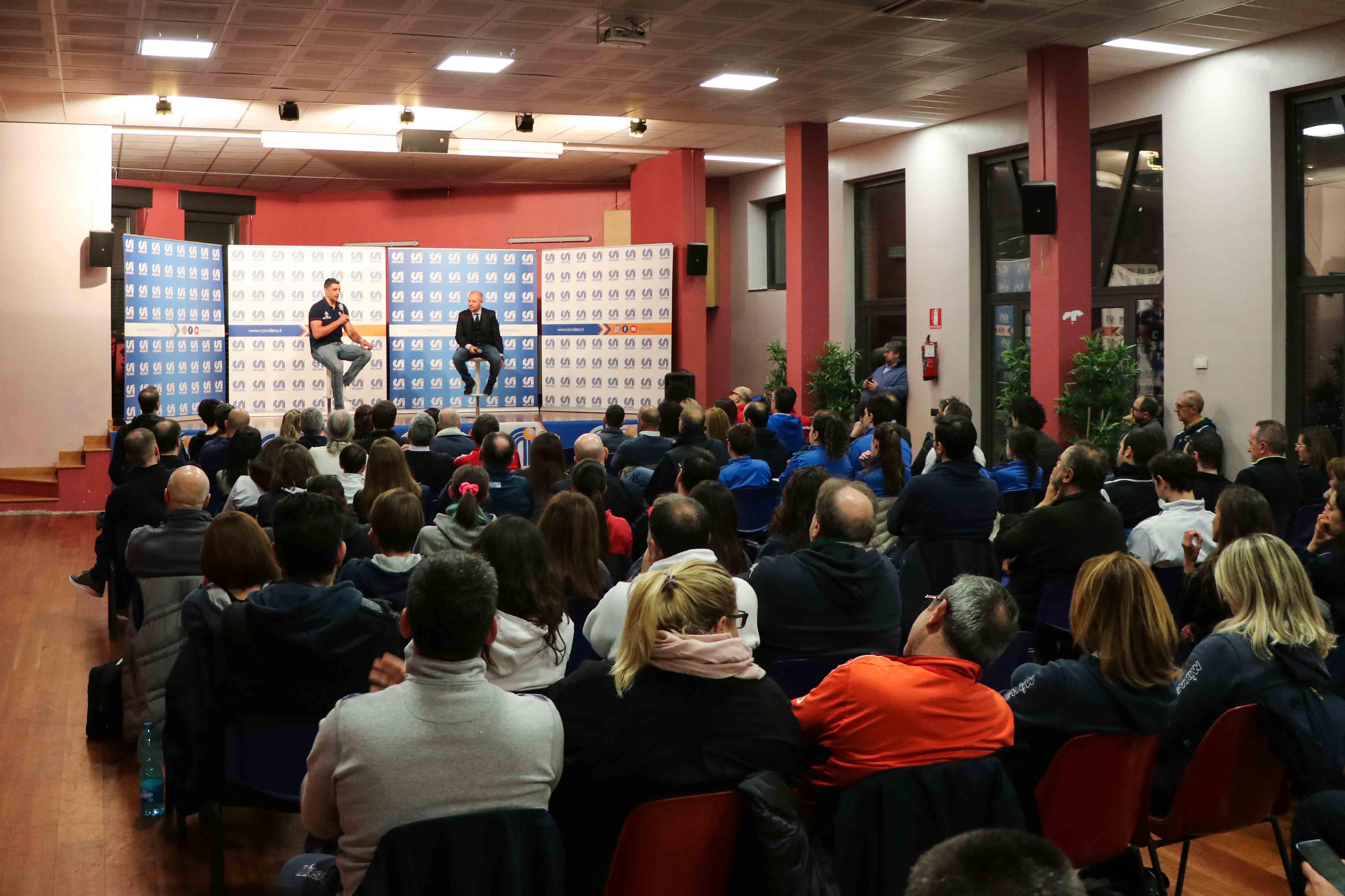 Calendario Csi Milano.Giani Incontra Gli Allenatori Di Volley Del Csi
