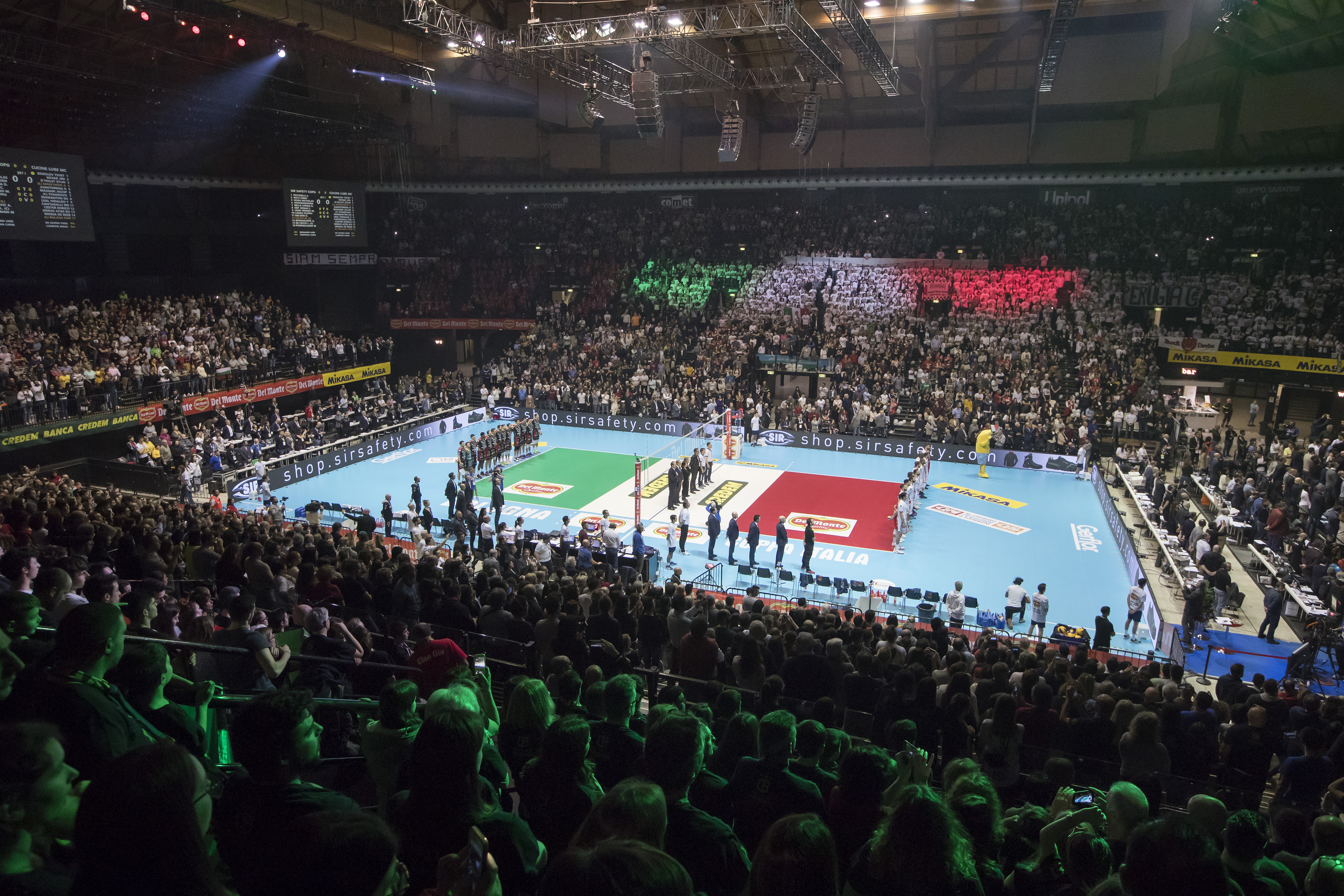 Del Monte Italian Cup Final Four at Unipol Arena in ...