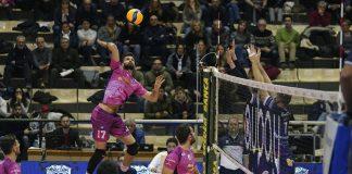 Coppa Italia QF. Siena-Marini Delta 3-1 - Attacco di Lazzaretto