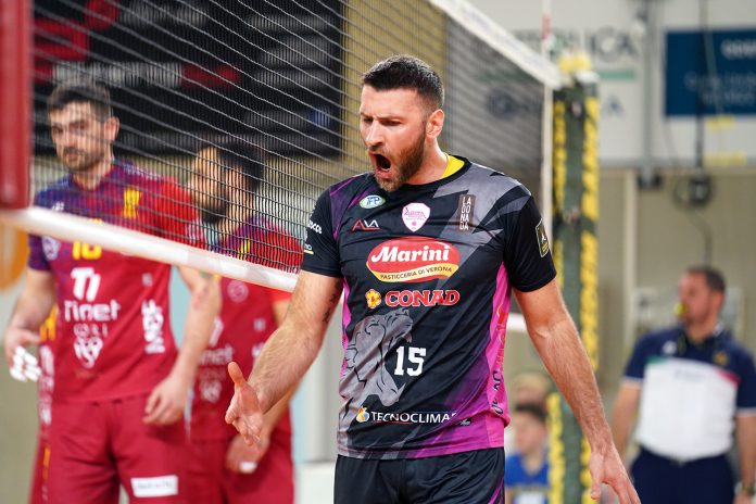 Matteo Sperandio miglior centrale della Serie A3