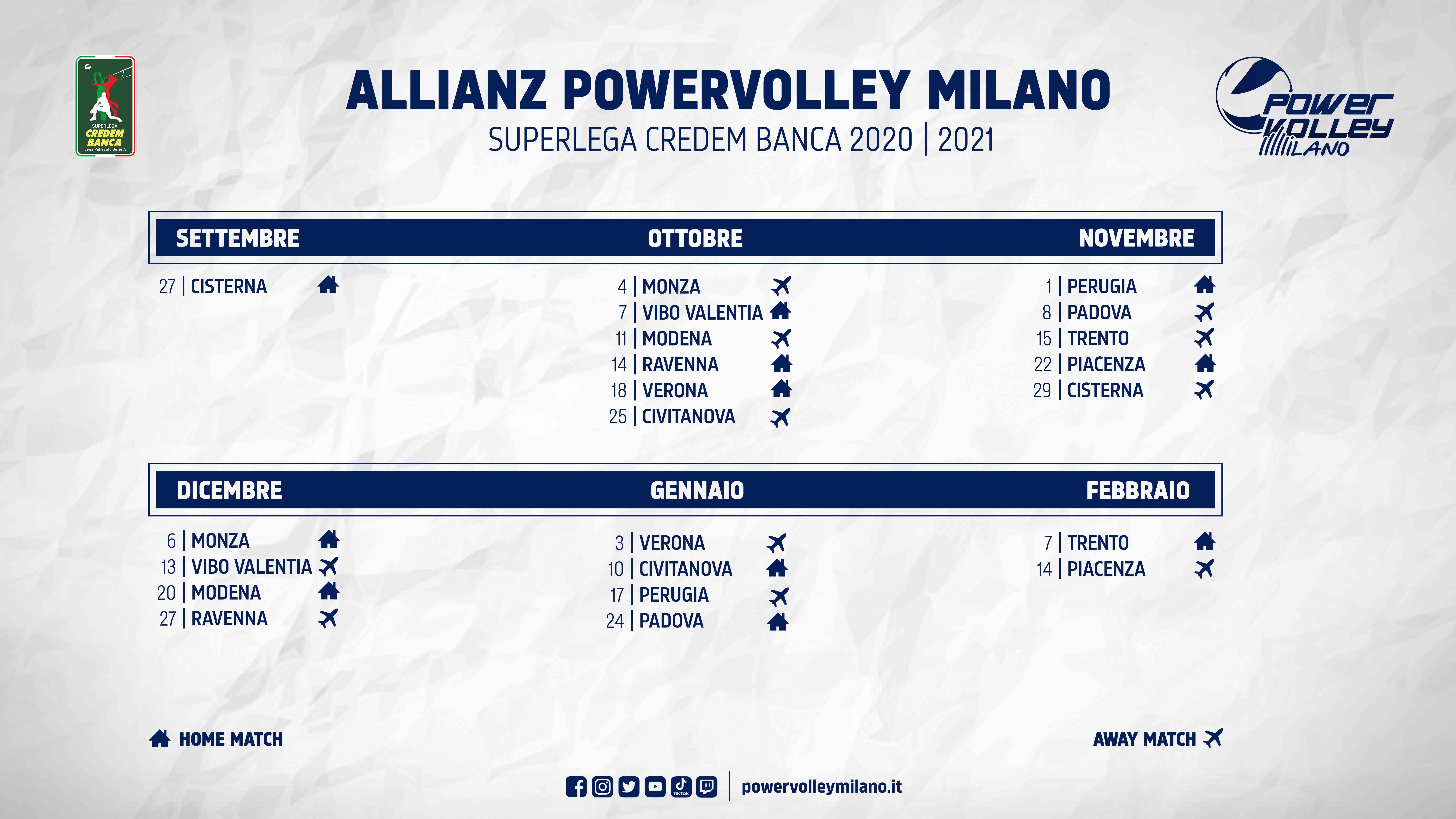 Superlega 2020 21 Ufficializzato Il Calendario Della Nuova Stagione Lega Pallavolo Serie A
