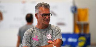 Coach Massimo Zambonin soddisfatto dopo le prime due settimane di preparazione
