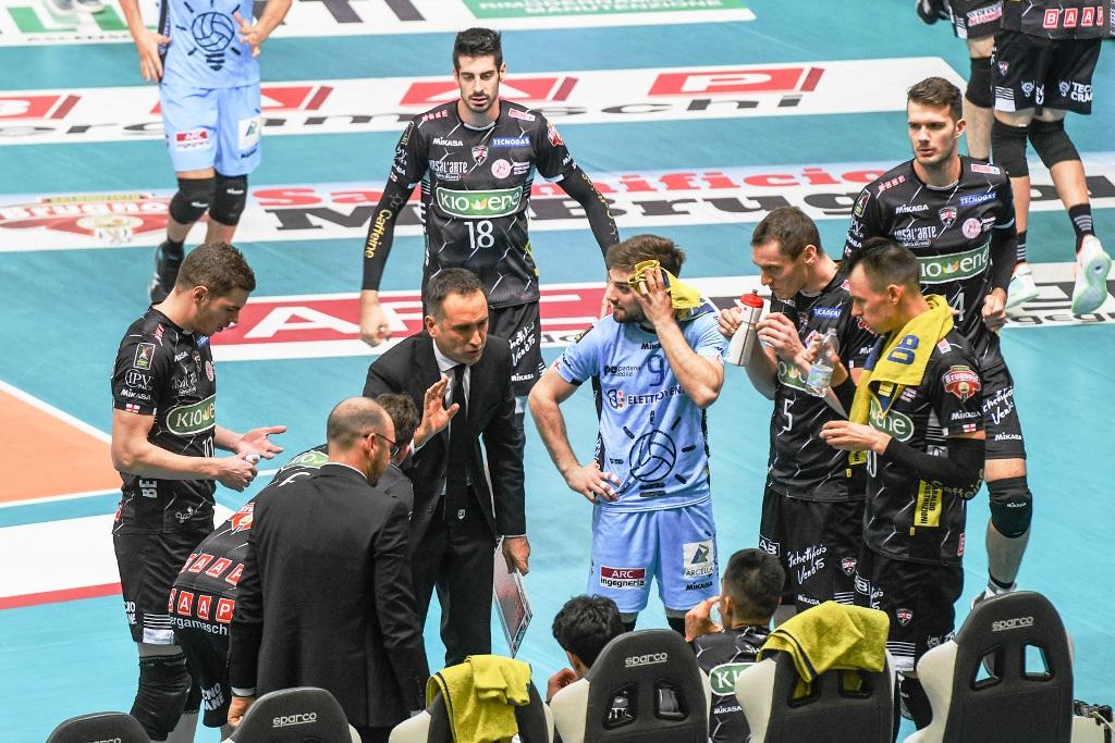 La Kioene ci prova ma Modena passa | Lega Pallavolo Serie A