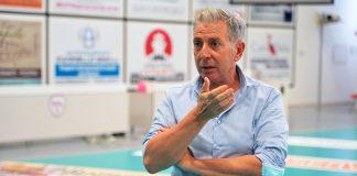Presentazione Finale Coppa Italia - Il Presidente del Delta Volley Luigi Veronese