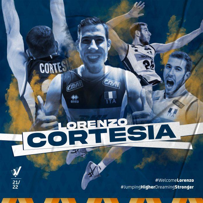 Lorenzo Cortesia Verona Volley 2021