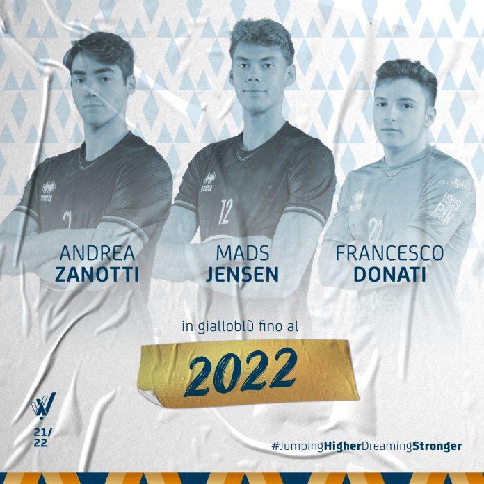 Zanotti Jensen Donati Verona Volley 2022