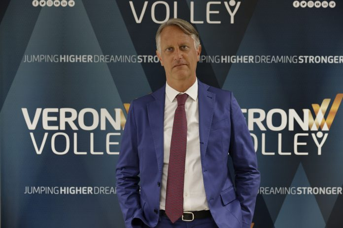 Stefano Fanini Presidente Verona Volley