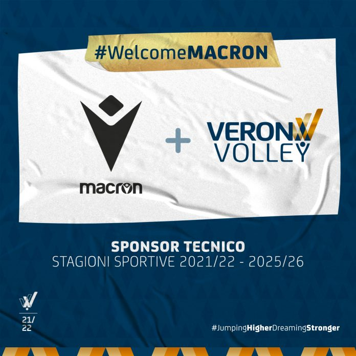 partnership Macron Verona Volley